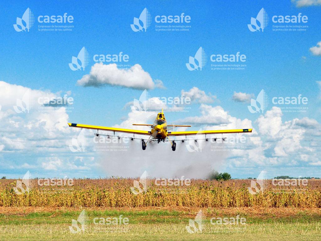imagen-casafe-avion pulverizador agroquimicos