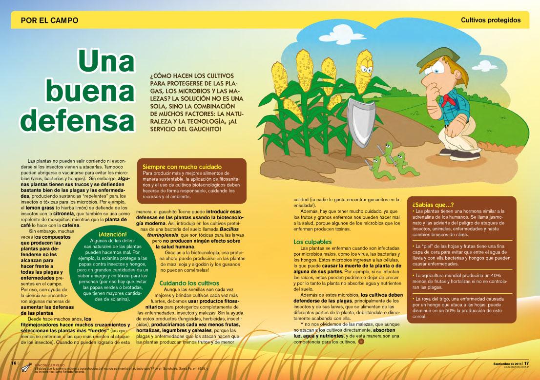 Una buena defensa - Cultivos protegidos (Revista Intercole Septiembre 2014)