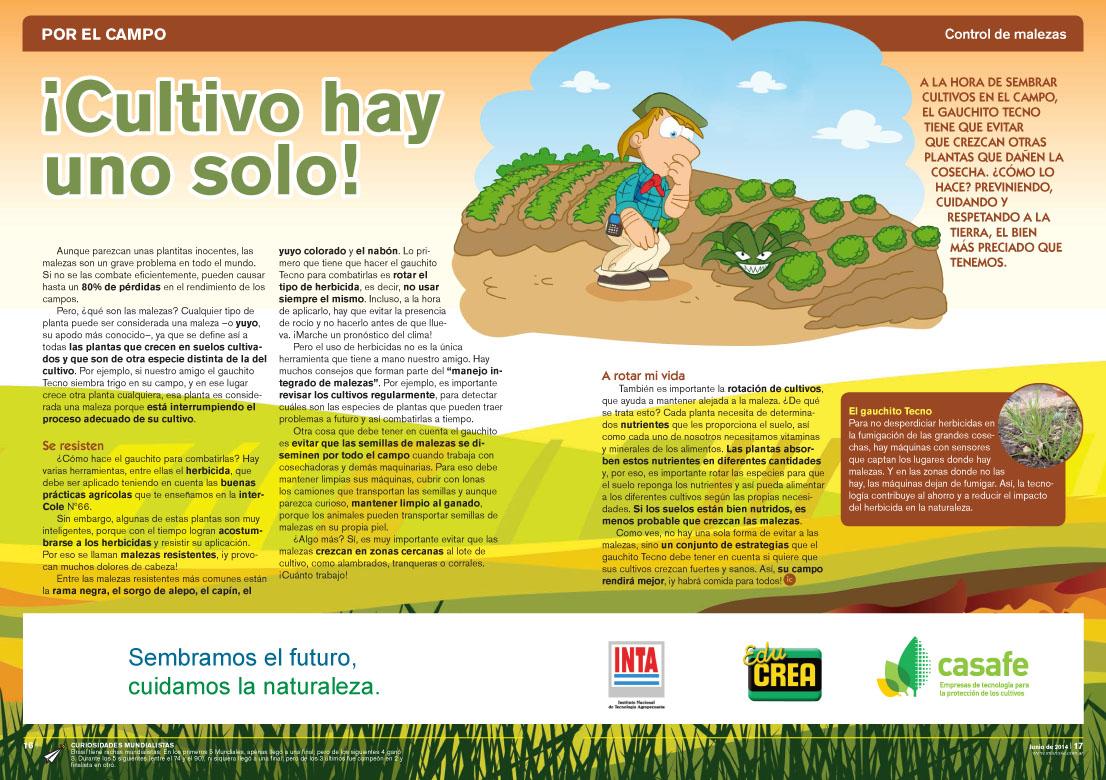 ¡Cultivo hay uno solo! - Control de Malezas (Revista Intercole Junio 2014)