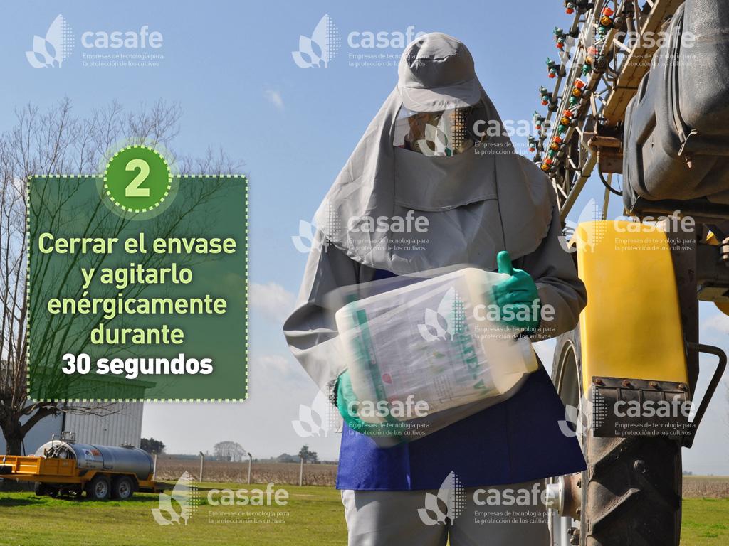 triple-lavado de envases de agroquimicos-paso2