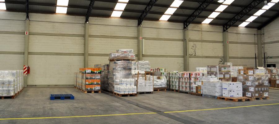 Almacenamiento de envases vacíos de productos fitosanitarios en el campo