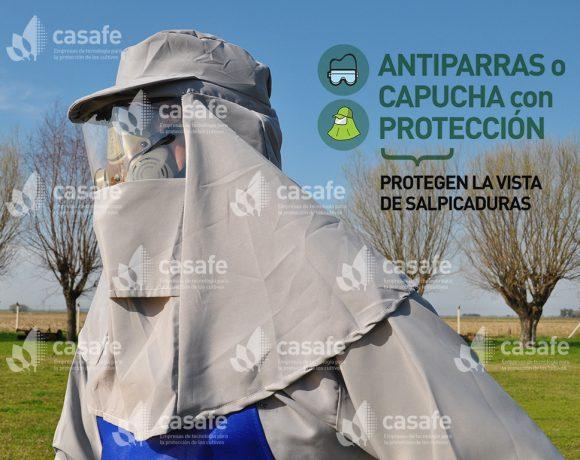 Equipo de Protección Personal // Antiparras o Capucha con Protección