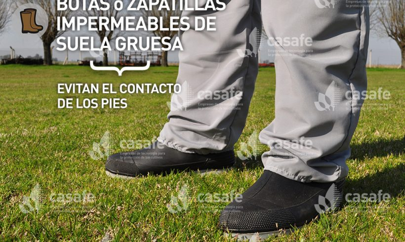 Equipo de Protección Personal // Botas o Zapatillas impermeables