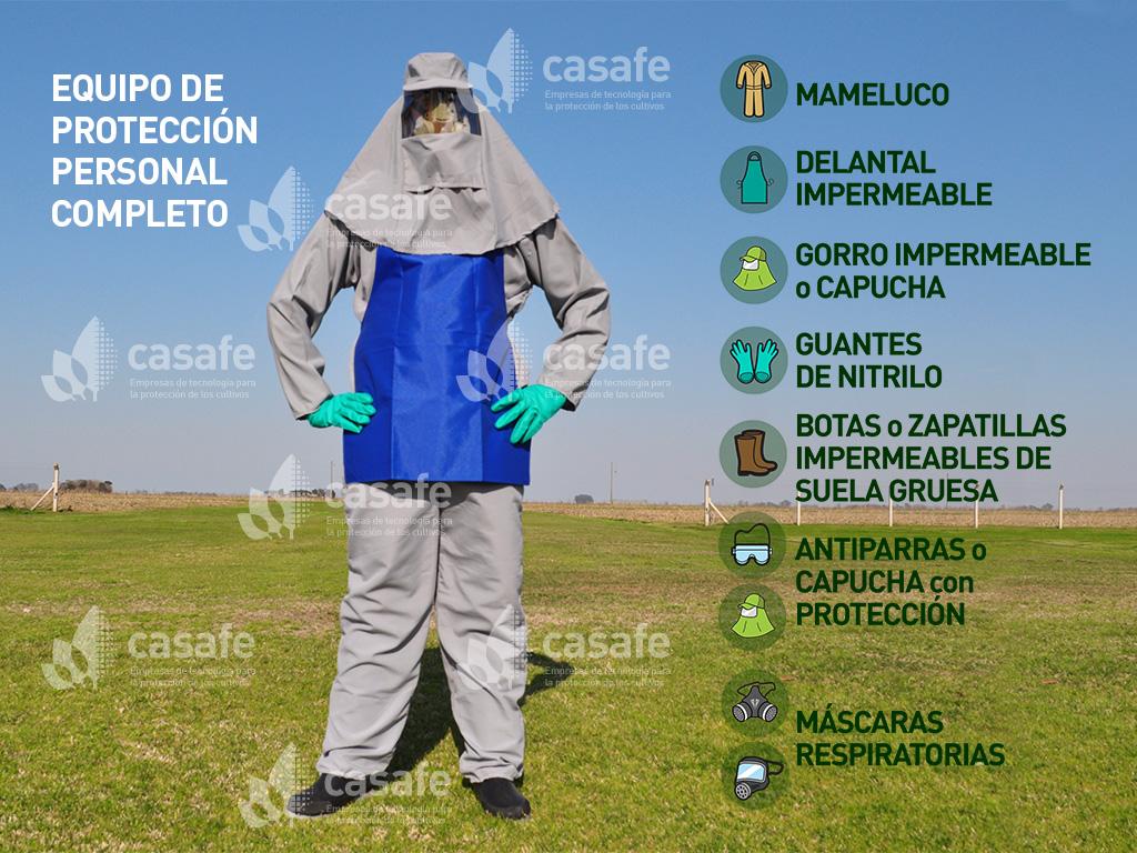equipo-de-proteccion-personal para aplicar agroquimicos