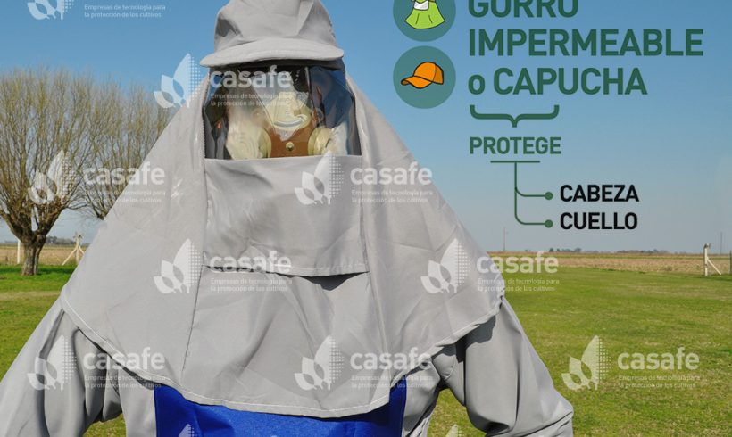 Equipo de Protección Personal // Gorro impermeable o Capucha