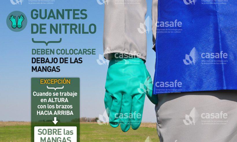 Equipo de Protección Personal // Guantes de nitrilo
