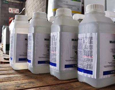 Tipos y usos de los envases de productos fitosanitarios