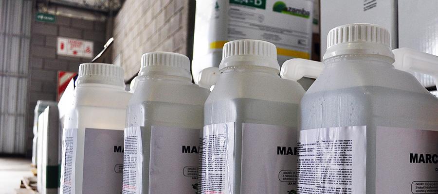Tipos de productos fitosanitarios