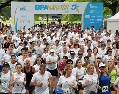 Éxito de convocatoria en la primer maratón del campo