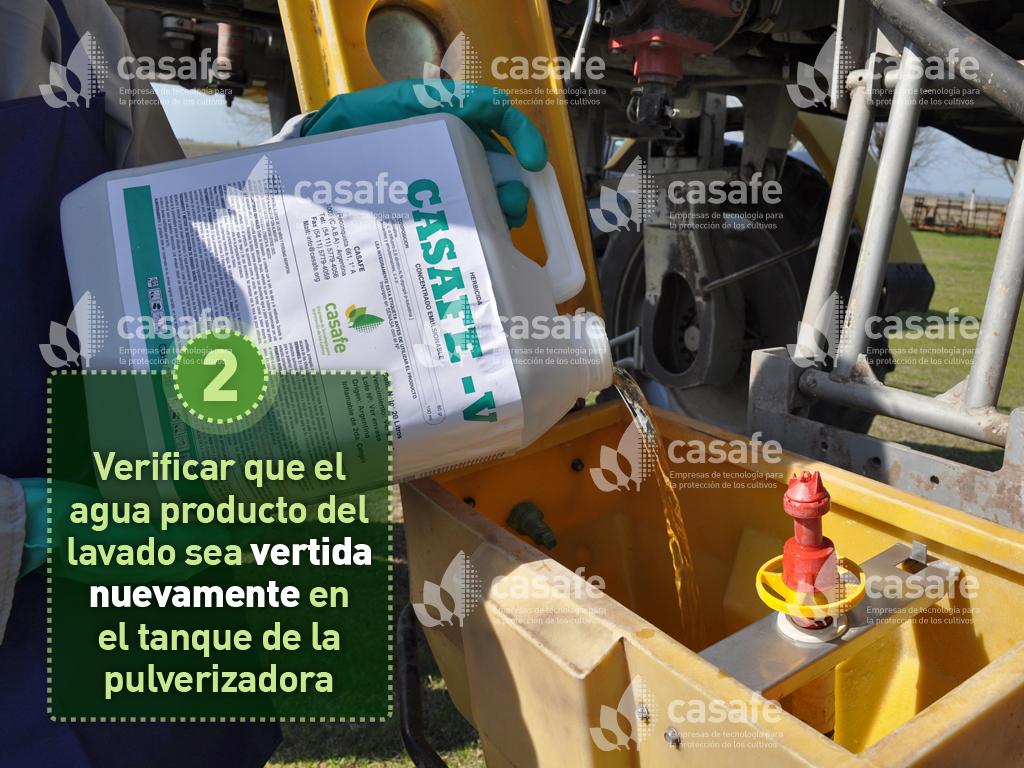imagen-casafe-lavado-a-presion de envases de agroquímicos
