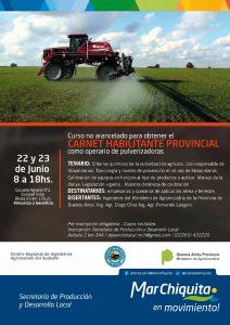 Jornada de actualización técnica en pulverización agrícola. @ Escuela Agraria N°1. Ruta 55 Km 132.5 | Coronel Vidal | Buenos Aires | Argentina