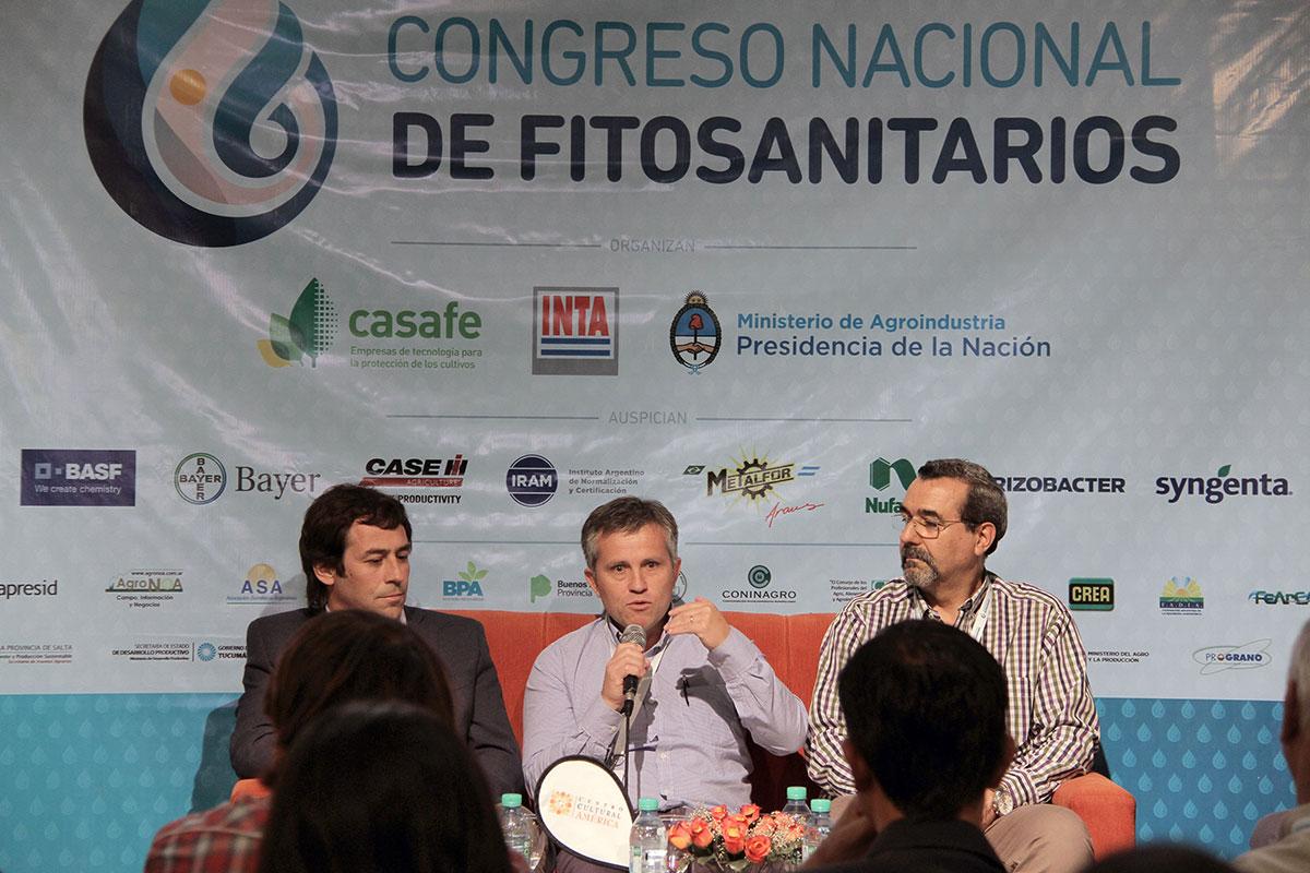 panel agroquimicos en congreso nacional de fitosanitarios