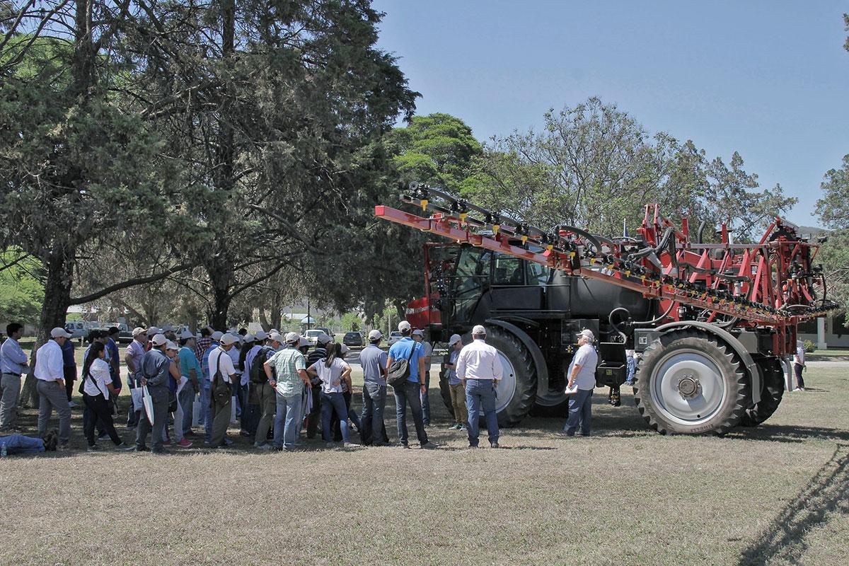 tecnologia de aplicacion de agroquimicos