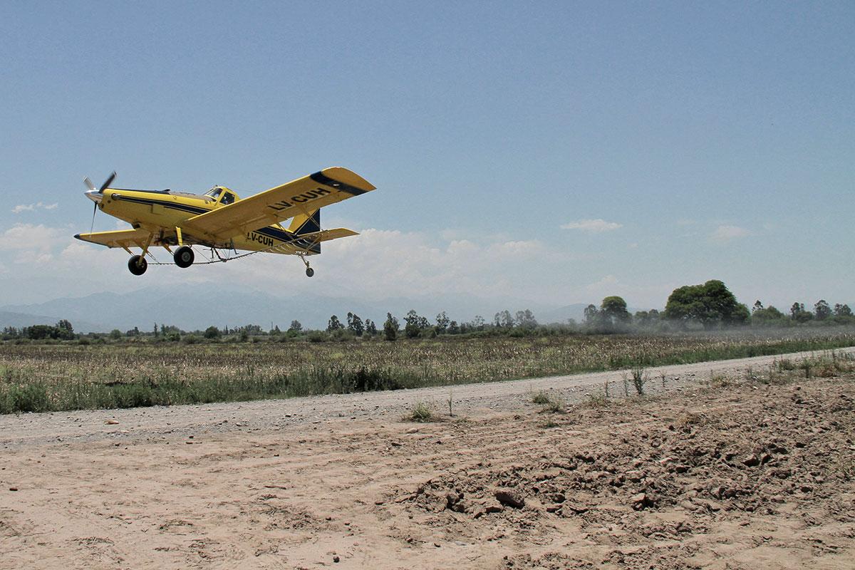 congreso nacional de fitosanitarios pulverizacion aerea de agroquimicos glifosato