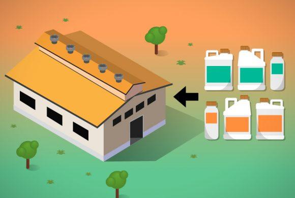 Recomendaciones para el almacenamiento de productos fitosanitarios en establecimientos rurales