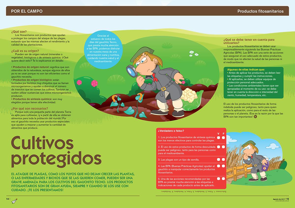 Cultivos Protegidos - Productos Fitosanitarios (Revista Intercole Agosto 2017)