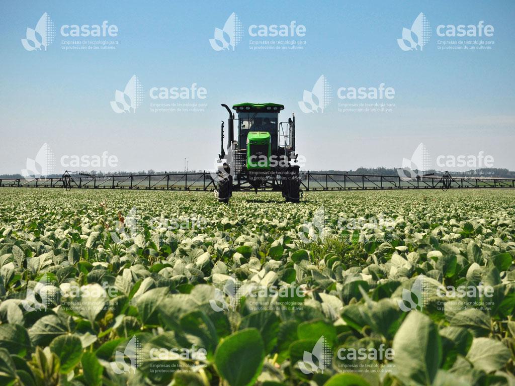 maquinaria de aplicacion de agroquimicos glifosato