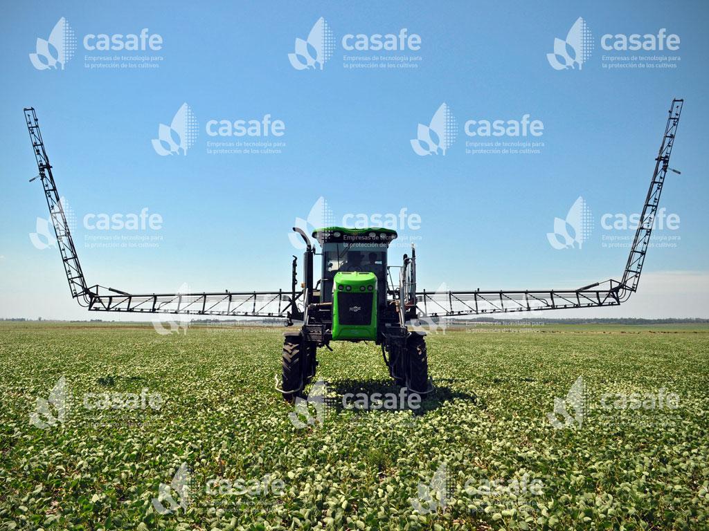 maquinaria terrestre de fitosanitarios glifosato
