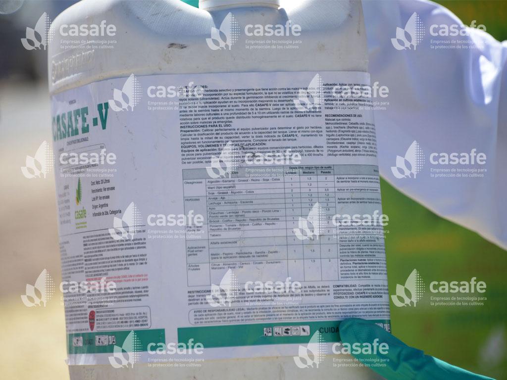 lectura de etiquetas de envases de fitosanitarios
