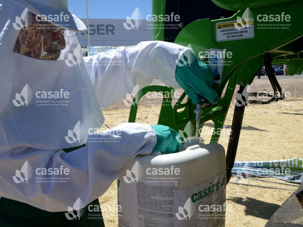 triple lavado de envases vacios de agroquimicos casafe
