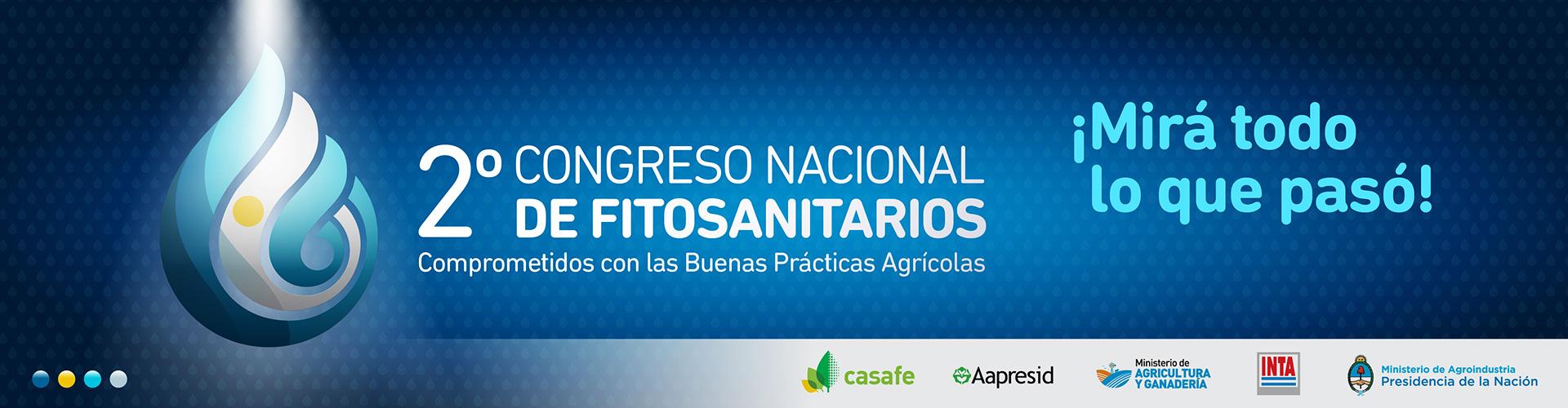 segundo congreso nacional de fitosanitarios
