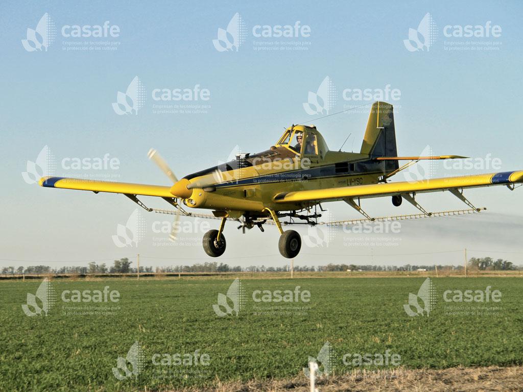 Buenas prácticas de aplicación aerea de agroquimicos