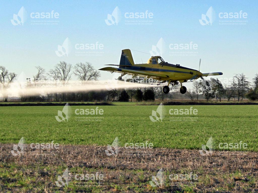 aplicación aérea de agroquímicos glifosato