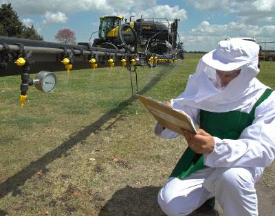 La capacidad de saber utilizar agroquímicos