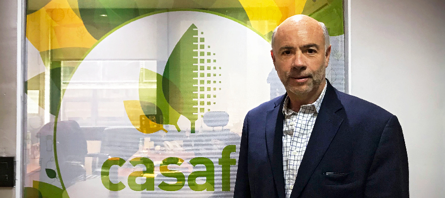 Fabián Quiroga, nuevo Presidente de Casafe