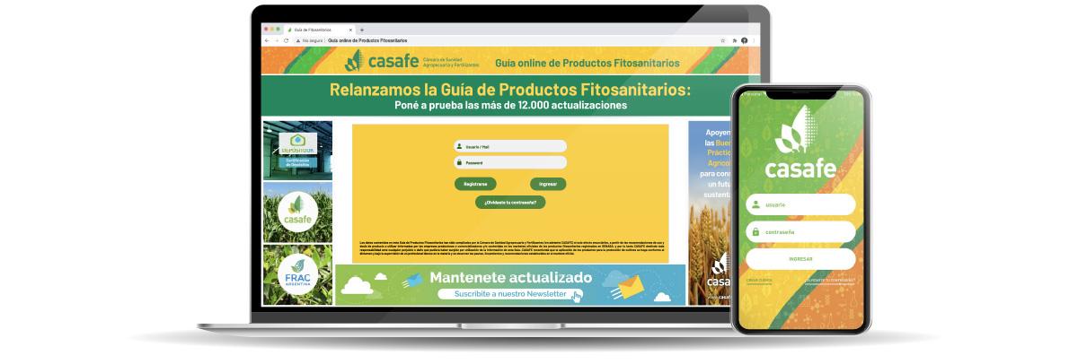 nueva guía online de productos fitosanitarios de casafe