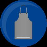 icono delantal