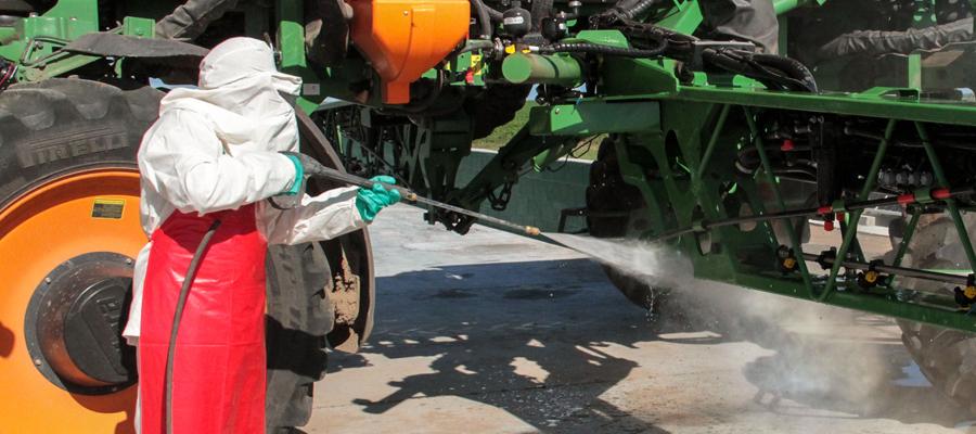 Pulverizadoras limpias, aplicaciones más eficientes