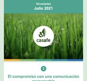 Newsletter Casafe Julio 2021